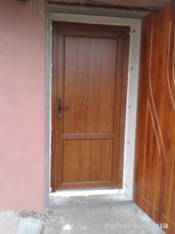 двери входные глухие