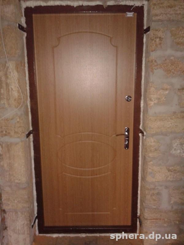 входные двери установка г дмитров