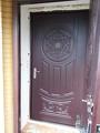 Реставрация дверей панелями МДФ