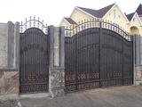 Распашные ворота и калитка в Днепропетровске