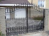 Распашные ворота в Днепропетровске