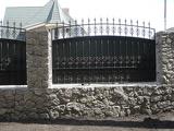 Забор с полимерной ковкой в Днепропетровске