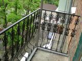 Фигурные балконные перила с элементами ковки в Днепропетровске