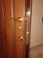 Врезка замка в бронированную дверь