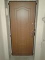 Установка входных бронированных дверей в квартире в Днепропетровске