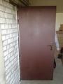 Металлическая дверь в магазин