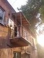 Металлоконструкция балкона в Днепропетровске
