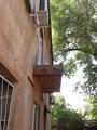 Плита после демонтажа балкона
