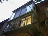 Остекление балкона в Днепропетровске