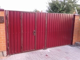 Ворота распашные в Днепропетровске