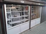Металопластиковая витрина на рынок