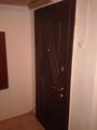 Обшивка двери МДФ карточками