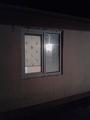 Установка окна и жалюзи