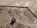 Лестничные перила с элементами ковки