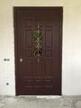 Бронированные двери с решёткой