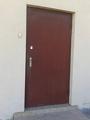 Дверь до реставрации МДФ панелями