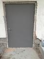 Изготовление металлической двери без обшивки