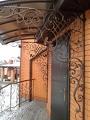Изготовление навесов в Днепропетровске с элементами ковки