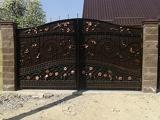 Изготовление распашных ворот в Днепропетровске