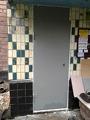 Двери в подсобное помещение